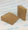 Kork Yoga-Keil Kurz - Set 1 - 75 x 90 x 30mm
