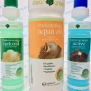 HARO clean & green Pflegeset - Natural, Active und Aqua Oil natur