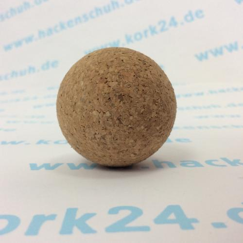 Presskorkkugel 40mm Massage-Faszienball