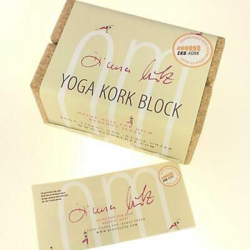 Set aus 2 Kork Yoga-Block Klassik - 75mm (ca. 227 x 120 x 75mm)